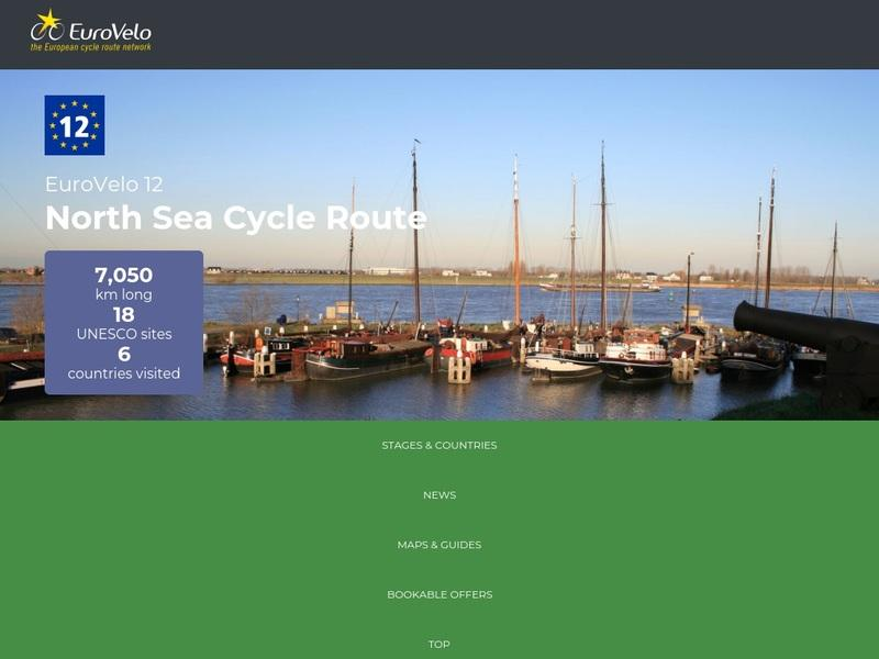 Screenshot von http://www.northsea-cycle.com/